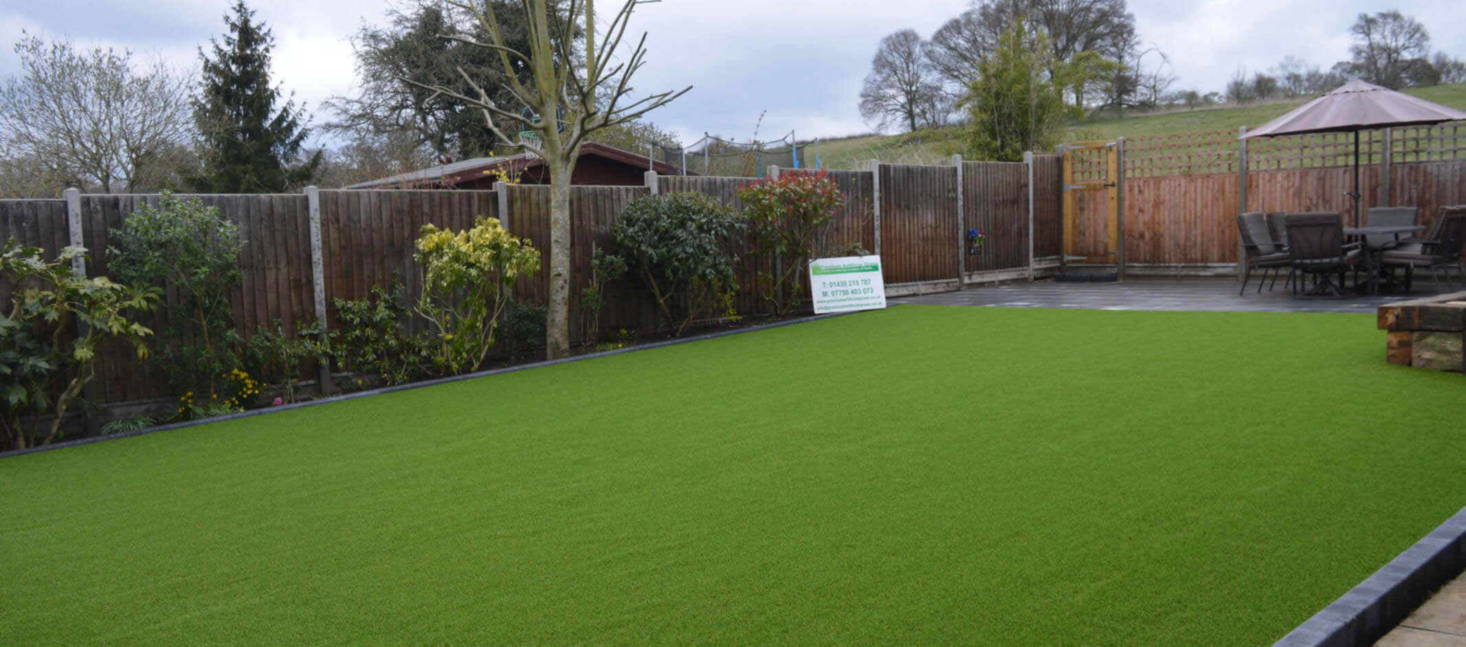 Artificial grass in Hertfordshire - Premium Artificial Grass